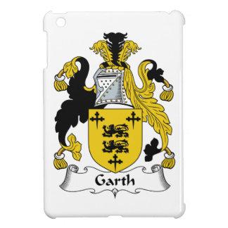 Escudo de la familia de Garth iPad Mini Coberturas
