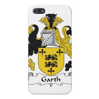 Escudo de la familia de Garth iPhone 5 Fundas