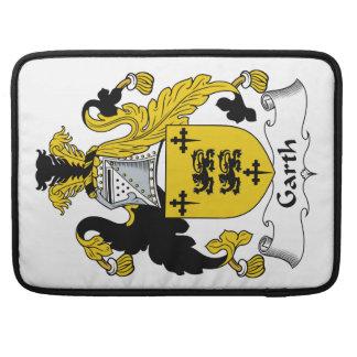Escudo de la familia de Garth Fundas Para Macbook Pro