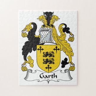 Escudo de la familia de Garth Rompecabeza Con Fotos