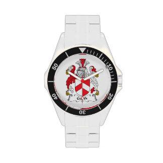 Escudo de la familia de Garth Relojes De Pulsera