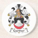 Escudo de la familia de Gartner Posavasos Diseño