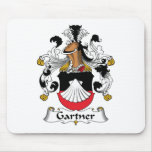 Escudo de la familia de Gartner Tapetes De Ratón