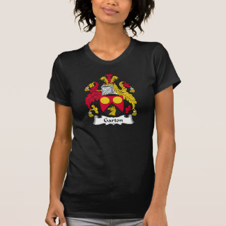 Escudo de la familia de Garton Camisetas