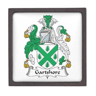 Escudo de la familia de Gartshore Caja De Regalo De Calidad