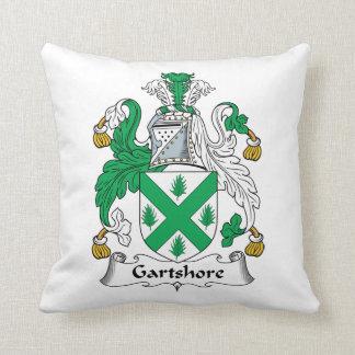 Escudo de la familia de Gartshore Almohadas