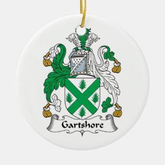 Escudo de la familia de Gartshore Ornaments Para Arbol De Navidad