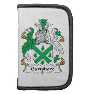 Escudo de la familia de Gartshore Organizador