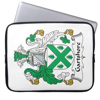 Escudo de la familia de Gartshore Fundas Computadoras