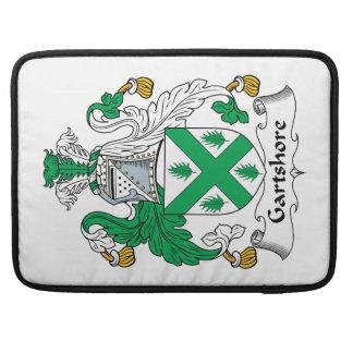 Escudo de la familia de Gartshore Fundas Para Macbook Pro
