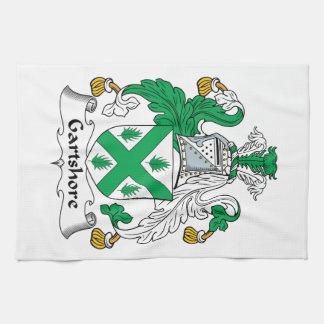Escudo de la familia de Gartshore Toallas De Cocina