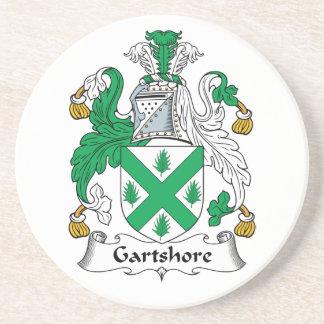 Escudo de la familia de Gartshore Posavasos Personalizados