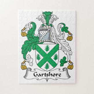 Escudo de la familia de Gartshore Puzzle Con Fotos