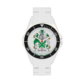 Escudo de la familia de Gartshore Reloj