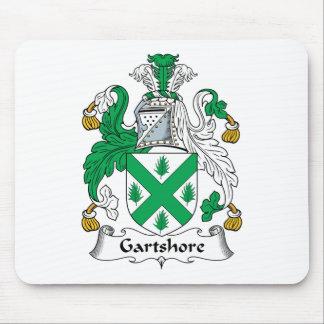 Escudo de la familia de Gartshore Alfombrilla De Ratones