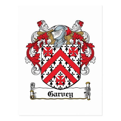 Escudo de la familia de Garvey Postal