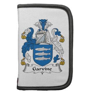 Escudo de la familia de Garvine Organizadores