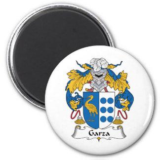 Escudo de la familia de Garza Imanes De Nevera