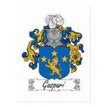 Escudo de la familia de Gaspari Postal