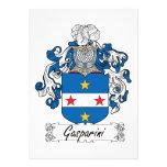 Escudo de la familia de Gasparini Comunicados