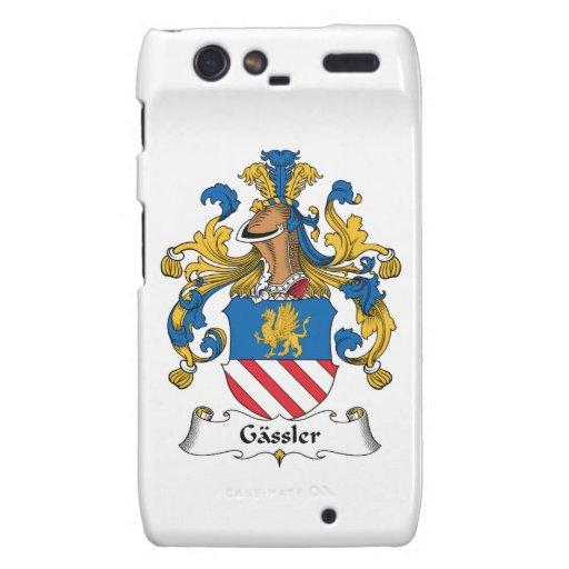 Escudo de la familia de Gassler Motorola Droid RAZR Funda
