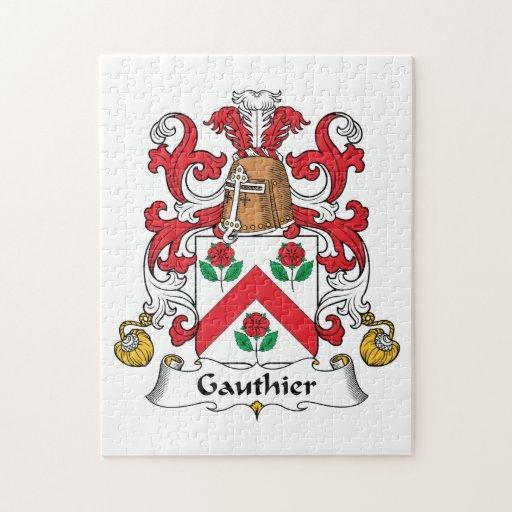 Escudo de la familia de Gauthier Puzzles