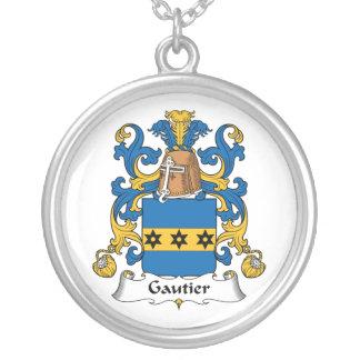 Escudo de la familia de Gautier Colgante