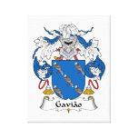 Escudo de la familia de Gaviao Impresiones De Lienzo