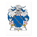 Escudo de la familia de Gaviao Postal