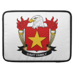 Escudo de la familia de Gavit Funda Para Macbooks