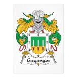 Escudo de la familia de Gayangos Comunicado Personal