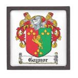 Escudo de la familia de Gaynor Caja De Joyas De Calidad