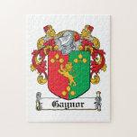 Escudo de la familia de Gaynor Puzzles Con Fotos