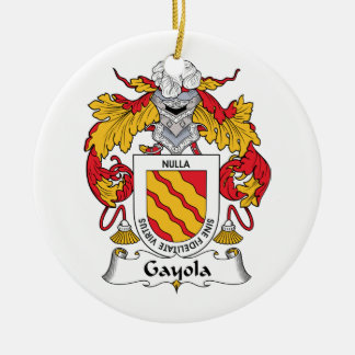 Escudo de la familia de Gayola Adorno De Reyes