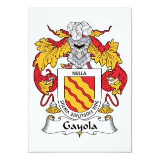 Escudo de la familia de Gayola Anuncios Personalizados