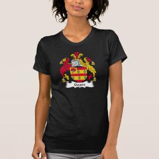 Escudo de la familia de Geare Camiseta