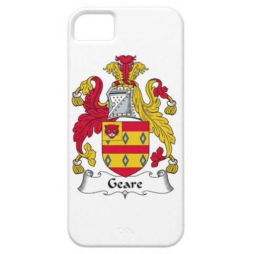 Escudo de la familia de Geare iPhone 5 Case-Mate Protector