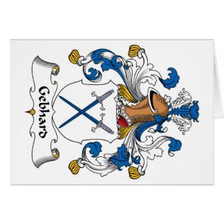 Escudo de la familia de Gebhard Felicitaciones