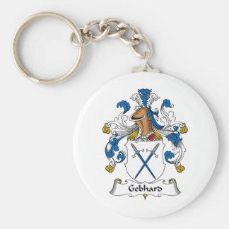 Escudo de la familia de Gebhard Llavero Personalizado