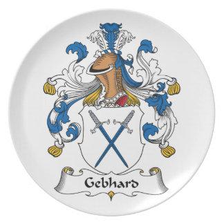 Escudo de la familia de Gebhard Plato