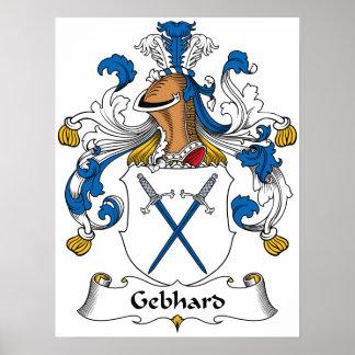 Escudo de la familia de Gebhard Posters