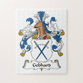 Escudo de la familia de Gebhard Puzzle Con Fotos