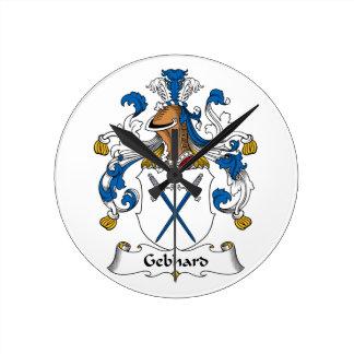 Escudo de la familia de Gebhard Relojes