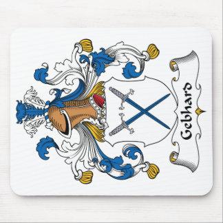 Escudo de la familia de Gebhard Alfombrilla De Ratón