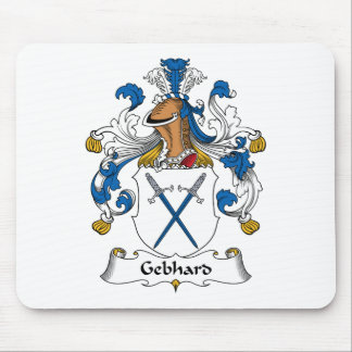Escudo de la familia de Gebhard Tapetes De Ratón