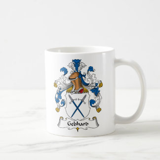 Escudo de la familia de Gebhard Taza De Café