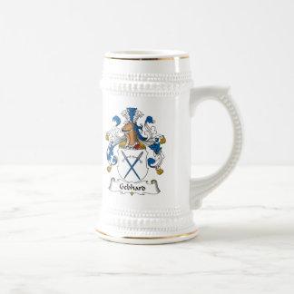 Escudo de la familia de Gebhard Tazas De Café
