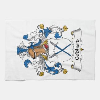 Escudo de la familia de Gebhard Toalla De Mano