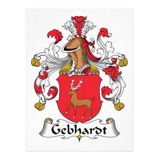 Escudo de la familia de Gebhardt Comunicado