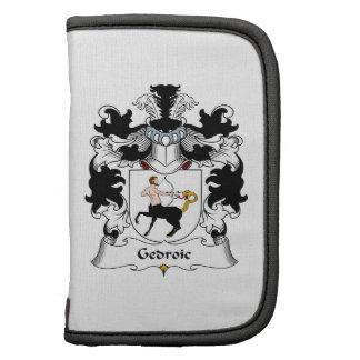 Escudo de la familia de Gedroic Planificador